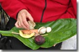 skunk cabbage platter